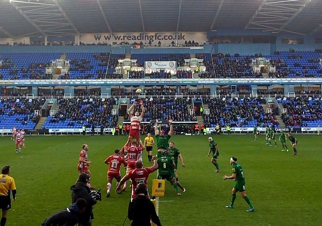 Feat rugby london irish gloucester lineout