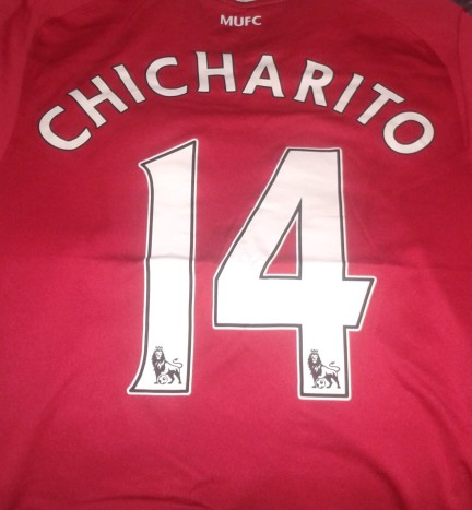 football shirt chicharito
