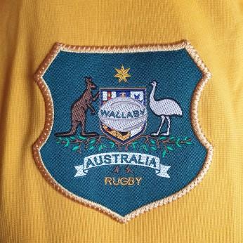 rugby australia crest shirt