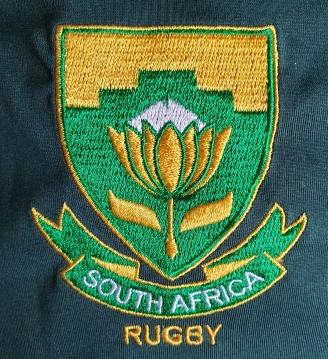 rugby south africa crest shirt