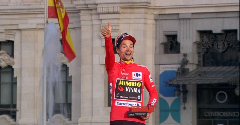 cycling roglic podium