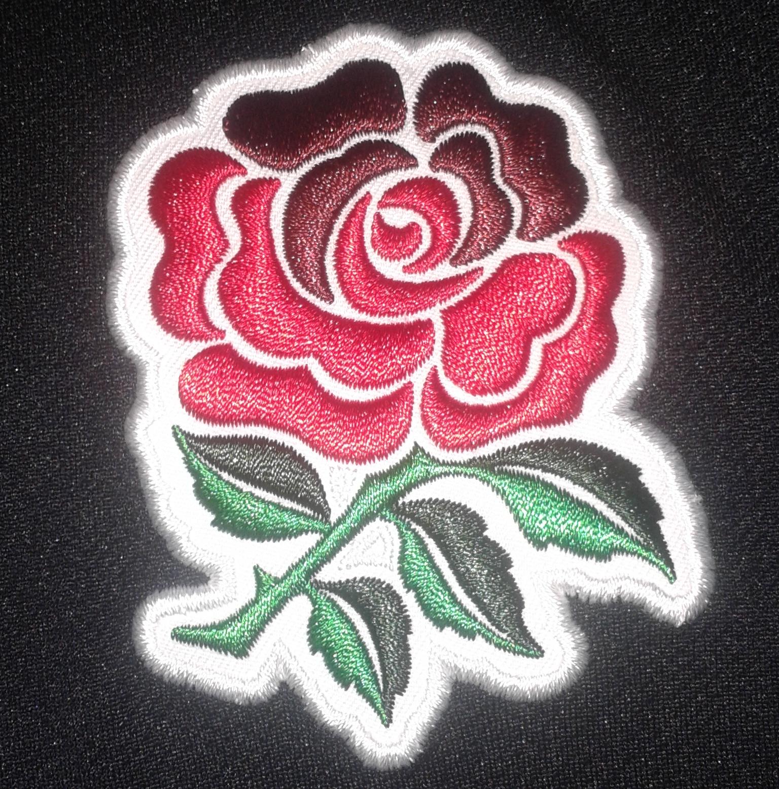 rugby england crest shirt black