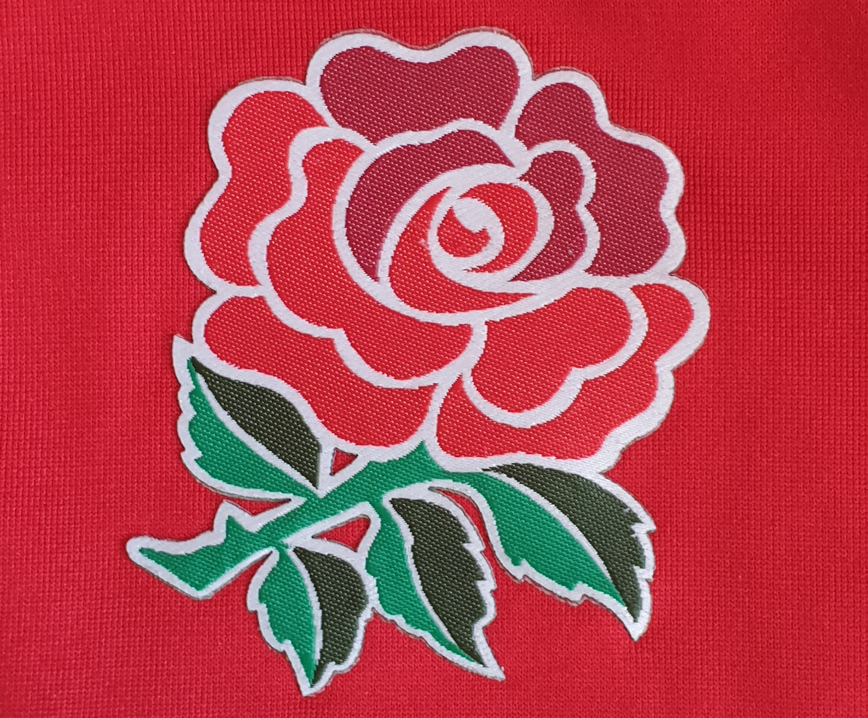 rugby england crest shirt red
