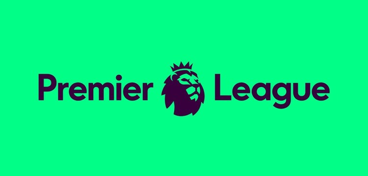 feat football prem league logo green