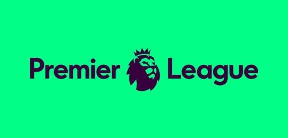 feat football prem league logo green