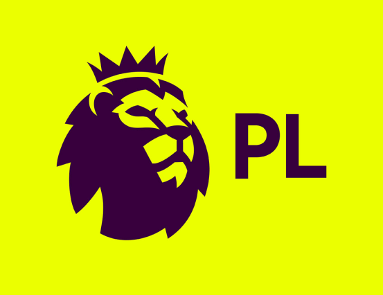 feat football prem league logo yellow