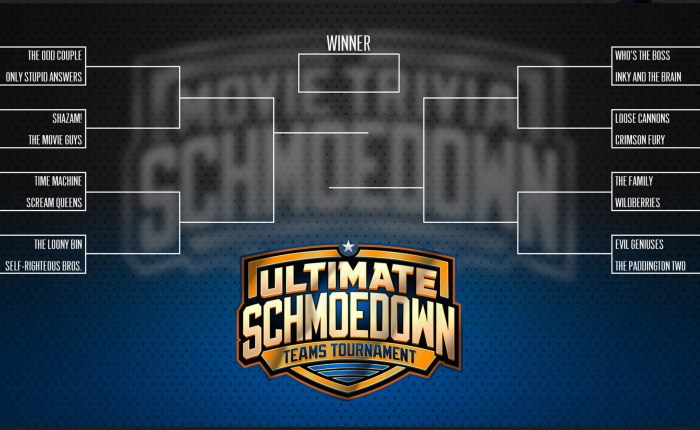 2019 Ultimate Schmoedown Teams Tournament: My Bracket Prediction
