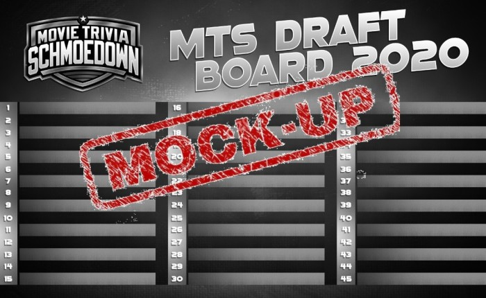 Draft Day! Schmoedown Mock Draft v2