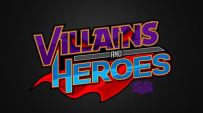 MTS Villains and Heroes Logo