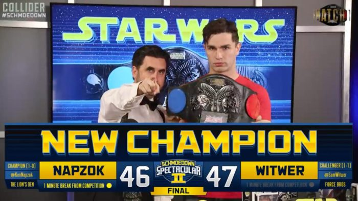 mts Spectacular II Sam Witwer Star Wars Belt