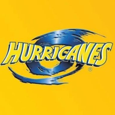 rugby hurricanes yellow logo
