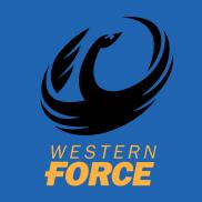 rugby western force blue logo