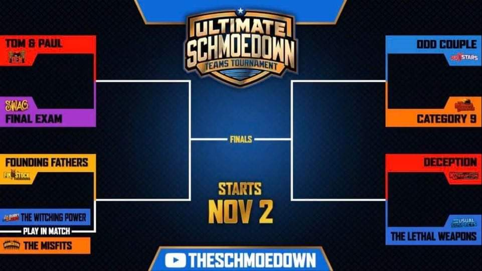 feat MTS Ultimate Schmoedown Teams Tournament 2020 bracket