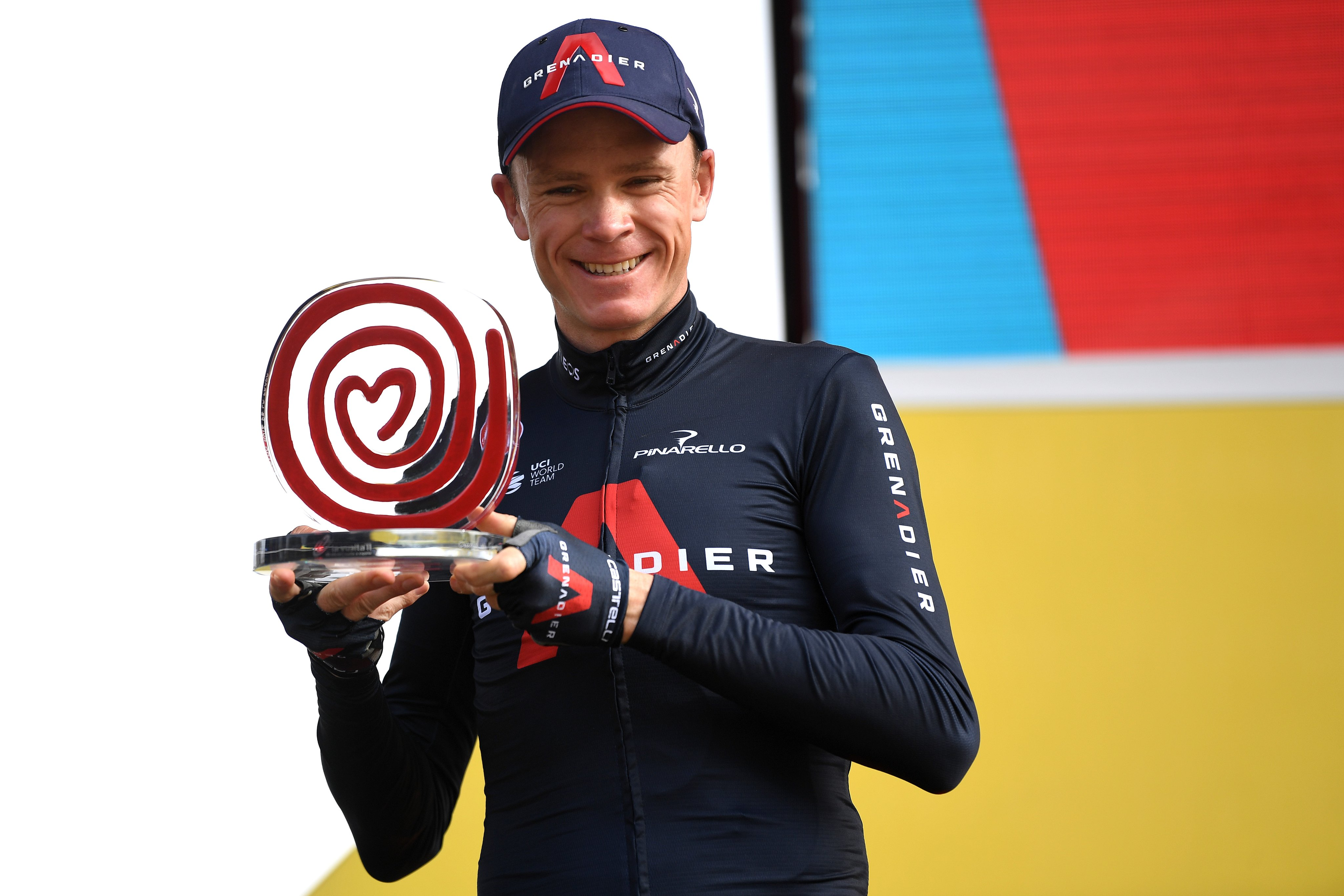 cycling vuelta 2020 froome trophy
