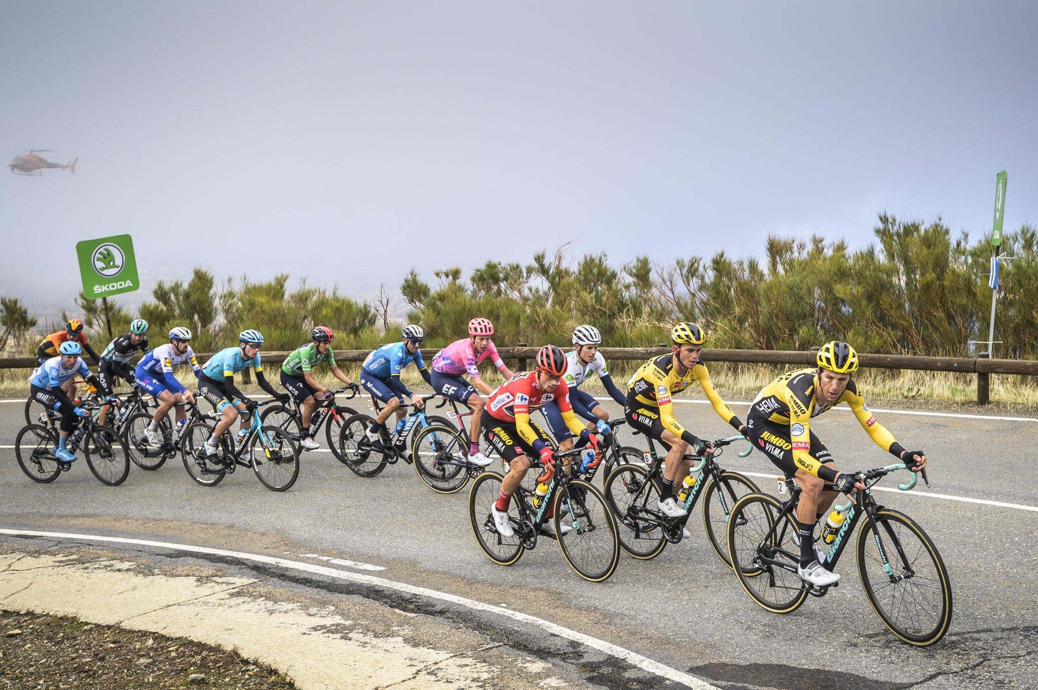 cycling vuelta 2020 roglic carapaz carthy kuss mas