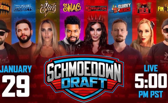 Schmoedown Season 8 Mock Draft