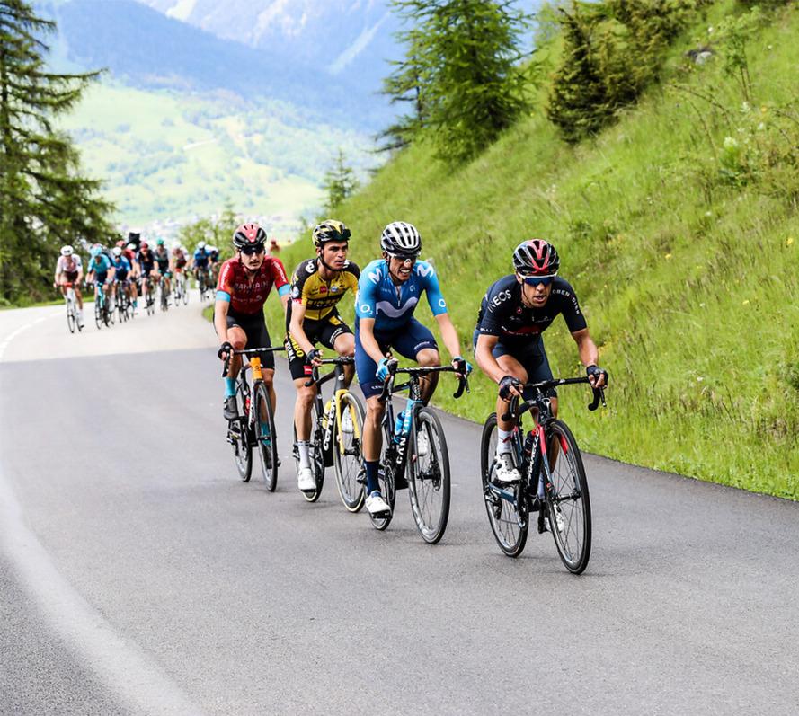 cycling 2021 Criterium du dauphine richie porte mark padn sepp kuss enric mas