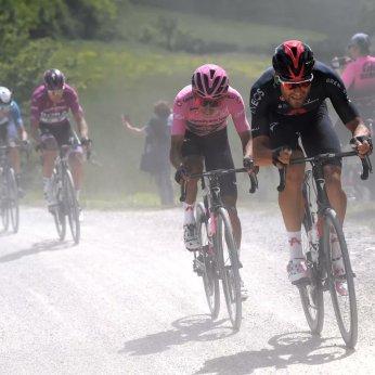 cycling giro 2021 ganna bernal gravel
