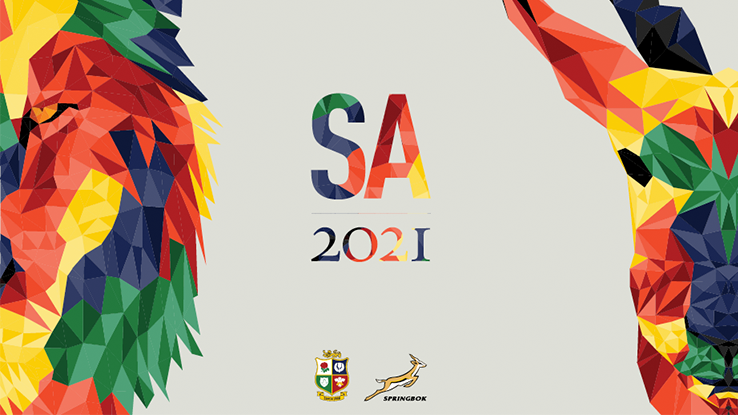 feat rugby british and irish lions south africa sringbok 2021 promo header