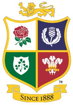 rugby british and irish lions badge no background