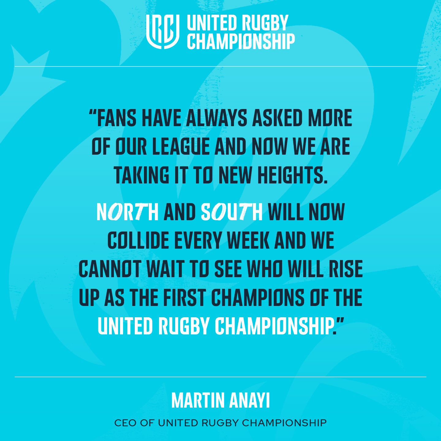 rugby URC Martin Anayi Quote