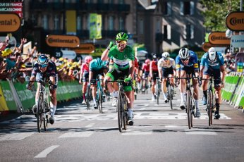 cycling tour de france 2021 mark cavendish stage 13 win number 34 record equalling